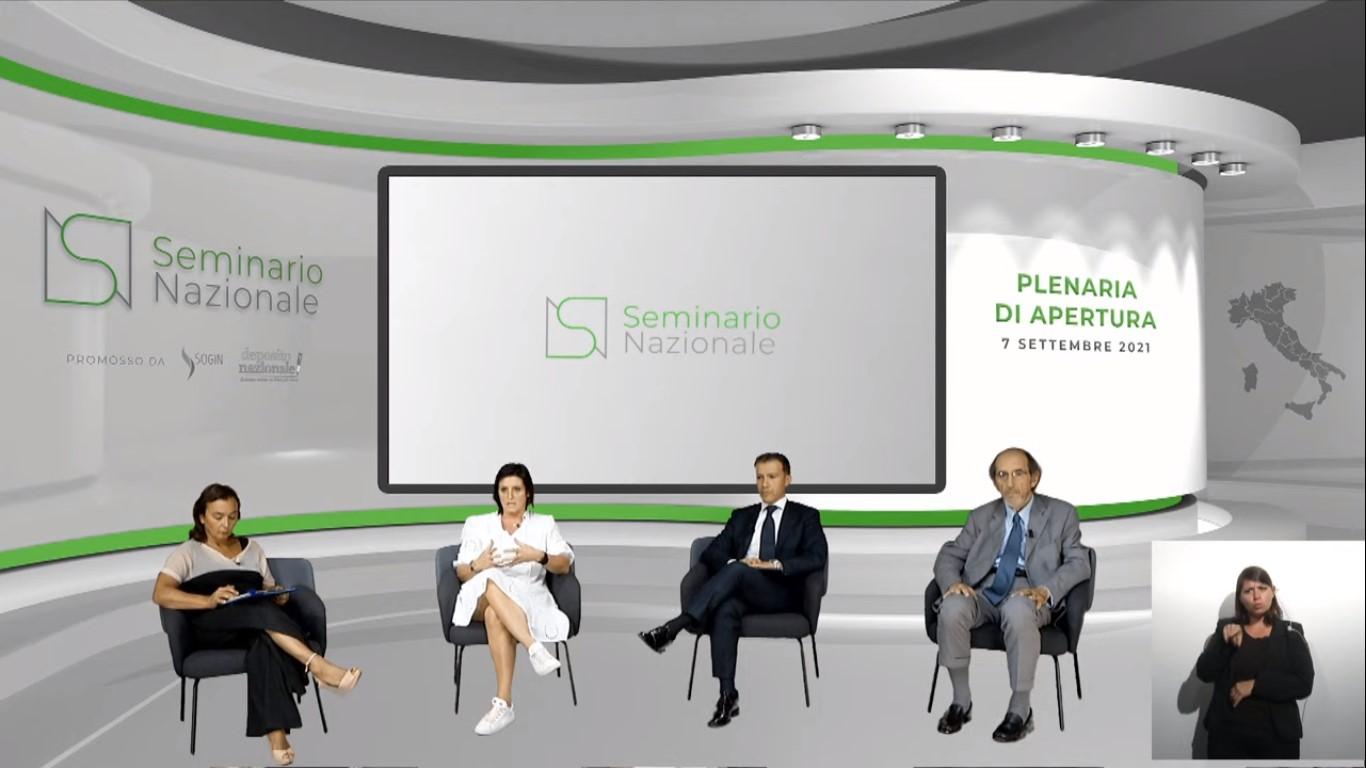 La plenaria di apertura del Seminario Nazionale